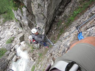 Klettersteig Verborgene Welt : Travels lavitabuono